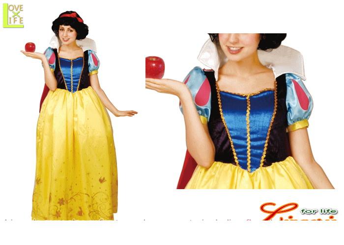 【レディ】【95R081】白雪姫 レディ ドレス【SNOW WHITE】【Disney】【ディズニー】 【お姫様】【パーティ】ディズニーのプリンスセレクション!☆AOIコレクションのコス♪【コスプレ】【衣装】【コスチューム】【】【 】