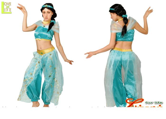 【レディ】【95R085】ジャスミン レディ ドレス【アラジン】【Disney】【ディズニー】 【お姫様】【パーティ】ディズニーのプリンスセレクション!どれもゴージャスでかわいい♪☆AOIコレクションのコス♪【コスプレ】【衣装】【コスチューム】【】