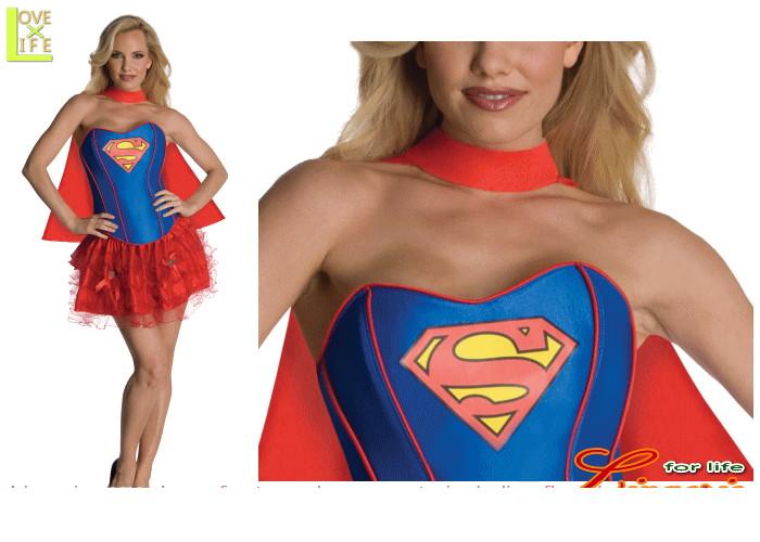 レディ 88R0558 アダルト セクシー スーパーガールSupergirl スーパーマン 仮装 パーティ スーパーガールの女性サイズコス♪☆AOIコレクションのコスプレシリーズ♪コスプレ 衣装 コスチューム