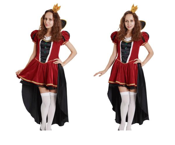 【1 】THE クイーン【プリンセス】【クィーン】【女王】【ハロウィン】【仮装】【コスプレ】キュートでゴージャスなクイーンは女の子の永遠の憧れ☆AOIコレクションのコスプレ♪【コスチューム】【】【大 】