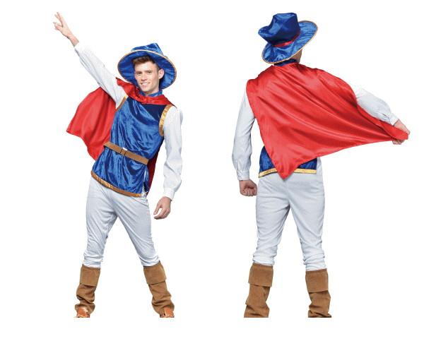 1  プリンス王子 騎士 貴族 貴公子 パーティ 仮装 コスプレ これひとつで華麗な貴公子に☆AOIコレクションのコスプレ♪コスチューム    大