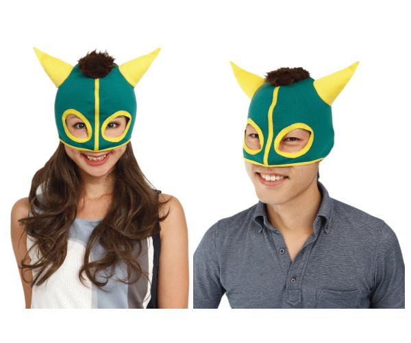 1 馬マスクグリーン サラブレット 干支 馬 ホース セットアップ 競走馬 競走馬風のマスク☆AOIコレクションのコスプレ 大 ショッピング コスチューム コスプレ 2014年の干支は馬 仮装