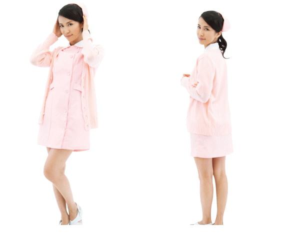 1看護師 ナチュラリーナース 看護婦 ナース 看護 制服 衣装 仮装 コスプレ ピンクナース服は永遠の憧れAOIコレクションのコスプレ コスチューム大mnyNOvwP80