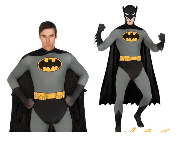 メンズ 88R0519 バットマン アダルトコスチューム(Batman)コミック 仮装 パーティ バットマンの大人サイズコス♪コミックのバットマンを完全再現☆AOIコレクションのコスプレシリーズ♪コスプレ 衣装 コスチューム   大