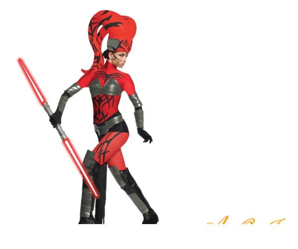 レディ 88R0694 大人用DX ダースタロン (スターウォーズ)Darth Talon かぶりもの STARWARS 仮装 パーティ 真っ赤な色合いがかっこいい女性用コス♪☆AOIコレクションのコスプレシリーズ♪コスプレ 衣装 コスチューム   大