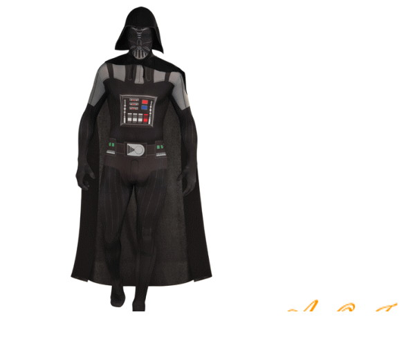 メンズ 88R0978 大人用 ダースベイダー タイツ(スターウォーズ)Darth Vader かぶりもの STARWARS 仮装 パーティ ピタっと全身スーツでお手軽変身♪☆AOIコレクションのコスプレシリーズ♪コスプレ 衣装 コスチューム