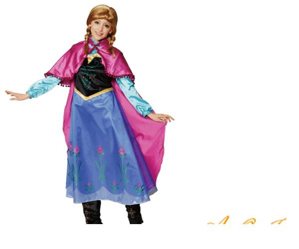 レディ 95R324 アナアナと雪の女王 仮装 パーティ プリンス Princess Anna of Arendelle Frozen ディズニー映画アナと雪の女王 シリーズ♪☆AOIコレクションのコスプレ♪コスプレ 衣装 コスチューム   大