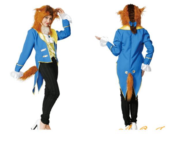 【レディ】【95R341】アダルト ビースト 美女と野獣【Beast】 (Disney)【Beauty and the Beast】【ディズニー】【仮装】【パーティ】ビーストのレディ用が登場!ワイルドに決めて☆AOIコレクションのコス♪【コスプレ】【衣装】【コスチューム】【 】【大 】