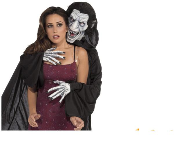 レディ 71R128 背後霊スーツ亡霊 ホラー おばけ 怪物 幽霊 仮装 背負いタイプの背後霊みんなをビックリさせちゃいましょう☆AOIコレクションのコス♪ハロウィン パーティ コスプレ 衣装 コスチューム   大