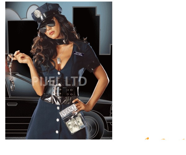 レディ 40P05 DREAMGIRL 警察 Corrupt Copドリームガール USA アメリカ ブランド パーティ セレブ愛用のドリームガールコレクション AOIコレクションのコス♪コスプレ 衣装 コスチューム   大