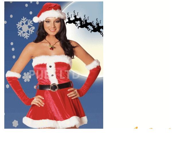 レディ 40P17 DREAMGIRL サンタ Santa's Sweetieドリームガール USA アメリカ ブランド パーティ セレブ愛用のドリームガールコレクション AOIコレクションのコス♪コスプレ 衣装 コスチューム   大