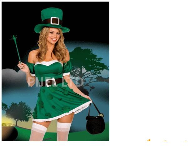 レディ 51P99 DREAMGIRL 私はアイルランド I'm Irishドリームガール USA アメリカ ブランド パーティ セレブ愛用のドリームガールコレクション AOIコレクションのコス♪コスプレ 衣装 コスチューム 大