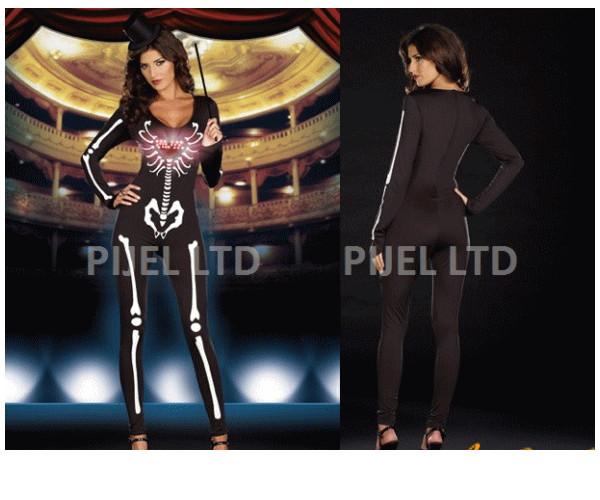 レディ 83P40 DREAMGIRL スケルトン歌姫 Dancing Skeleton Divaスカル ドリームガール アメリカ ブランド パーティ セレブ愛用のドリームガールコレクション AOIコレクションのコス♪コスプレ 衣装 コスチューム
