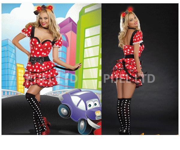 レディ 87P81 DREAMGIRL ミス マウス Miss Mouseミニーマウス ミニー ドリームガール アメリカ ブランド パーティ セレブ愛用のドリームガールコレクション AOIコレクションのコス♪コスプレ 衣装 コスチューム