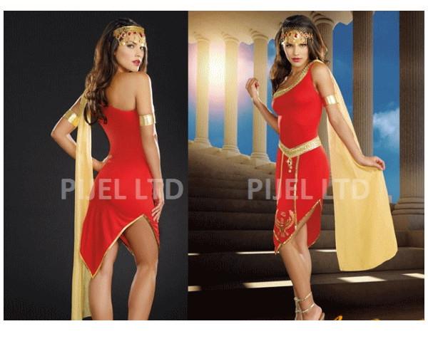 レディ 88P14 DREAMGIRL デ ナイルの女王 Queen of De Nile女王 ドリームガール アメリカ ブランド パーティ セレブ愛用のドリームガールコレクション AOIコレクションのコス♪コスプレ 衣装 コスチューム