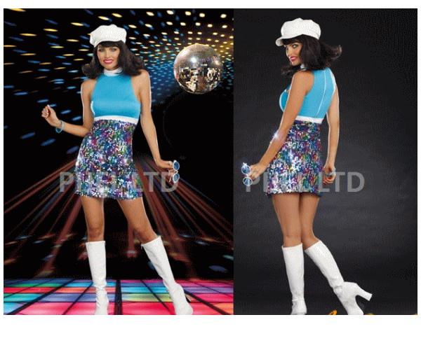 レディ 88P42 DREAMGIRL グルーヴサングシェイク Shake Your Groove Thangドリームガール アメリカ ブランド パーティ セレブ愛用のドリームガールコレクション AOIコレクションのコス♪コスプレ 衣装 コスチューム