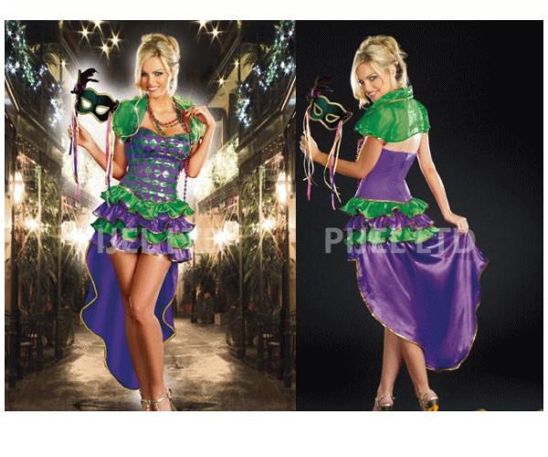 レディ 88P78 DREAMGIRL マルディグラ Mardi Gras Mavenドレス ドリームガール アメリカ ブランド パーティ セレブ愛用のドリームガールコレクション AOIコレクションのコス♪コスプレ 衣装 コスチューム