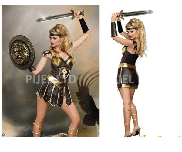 レディ 94P04 DREAMGIRL 剣戦士の女王 Queen of Warrior戦士 ドリームガール アメリカ ブランド パーティ セレブ愛用のドリームガールコレクション AOIコレクションのコス♪コスプレ 衣装 コスチューム