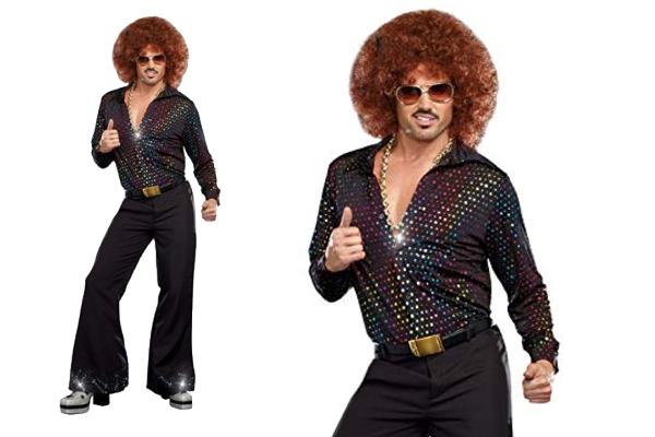 メンズ 94P68 DREAMGIRL ディスコデュード Disco Dudeダンス クラブ ドリームガール USA アメリカ ブランド パーティ セレブ愛用のドリームガール AOIコレクションのコス♪コスプレ 衣装 コスチューム