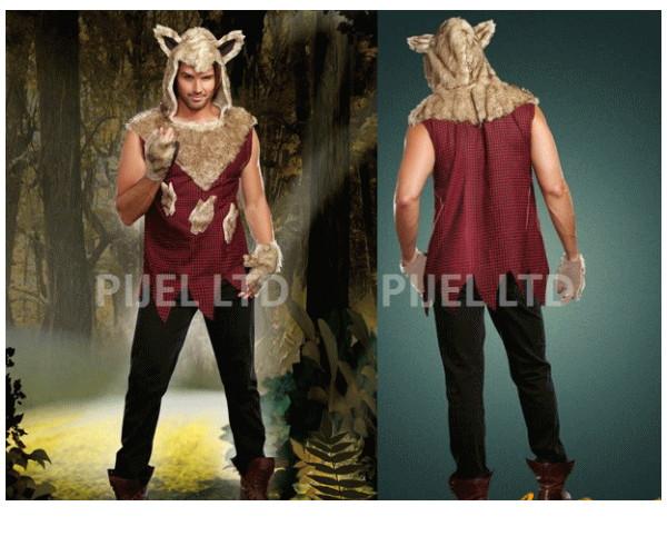 メンズ 94P93 DREAMGIRL 大きな悪いオオカミ Big Bad Wolf狼 赤頭巾 ドリームガール USA アメリカ ブランド パーティ セレブ愛用のドリームガール AOIコレクションのコス♪コスプレ 衣装 コスチューム