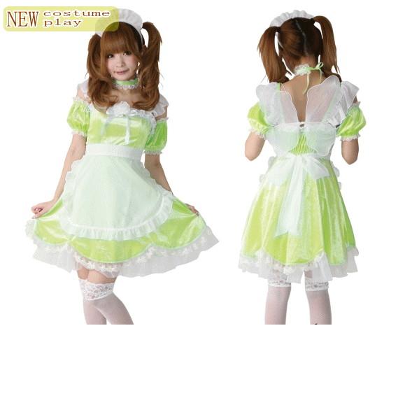 フェアリーメイド♪ワンピースはドレス用高級ベロア!美しい光沢です☆AOIコレクションのコスプレシリーズ♪コスプレ 衣装 コスチューム    大