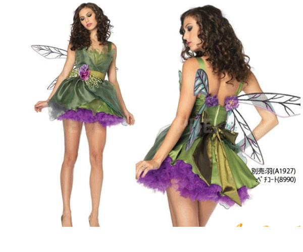 レディ 83P868 LEG AVENUE ウッドランドの妖精 Fairyレッグアベニュー USA アメリカ ブランド パーティ 本場のコスプレブランド レッグアベニューコレクション AOIコレクションのコス♪コスプレ 衣装 コスチューム