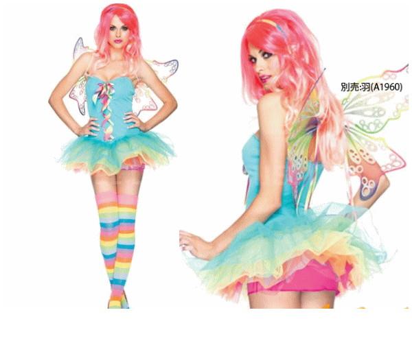レディ 83P917 LEG AVENUE 虹の妖精 Rainbow Fairyレッグアベニュー アメリカ ブランド パーティ 本場のコスプレブランド レッグアベニューコレクション AOIコレクションのコス♪コスプレ 衣装 コスチューム