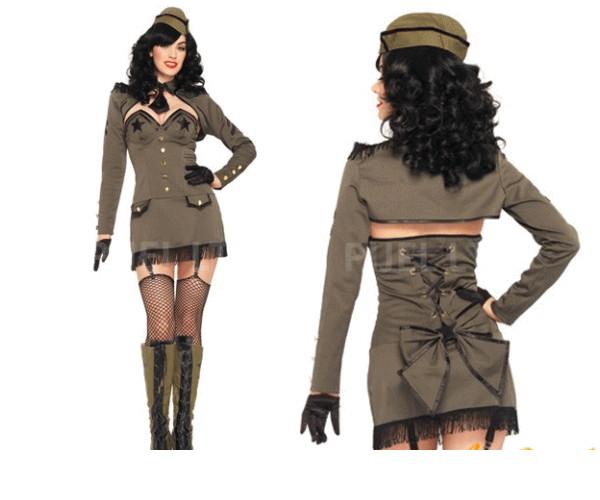 【レディ】【83P955】【LEG AVENUE】ピンナップアーミーガール Army Girl【レッグアベニュー】【アメリカ】【ブランド】【パーティ】本場のコスプレブランド レッグアベニューコレクション AOIコレクションのコス♪【コスプレ】【衣装】【コスチューム】