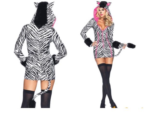【レディ】【83P986】【LEG AVENUE】サバンナシマウマ Savanna Zebra【レッグアベニュー】【アメリカ】【ブランド】【パーティ】本場のコスプレブランド レッグアベニューコレクション AOIコレクションのコス♪【コスプレ】【衣装】【コスチューム】【大 】