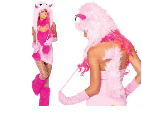 レディ LEG AVENUE WEB限定 ピンクパフモンスターレッグアベニュー アメリカ お中元 ブランド パーティ ☆AOIコスプレ 衣装 85P152 ピンクパフモンスター 本場のコスプレブランド Puff Pink コスプレ Monsterレッグアベニュー レッグアベニューコレクション AOIコレクションのコス コスチューム