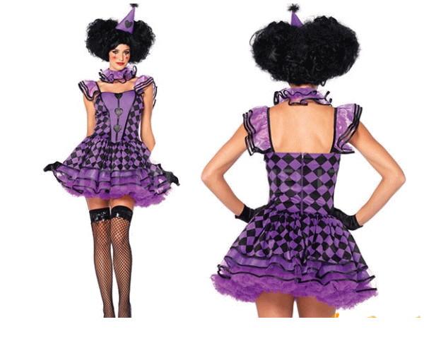 レディ 85P354 LEG AVENUE プリティパリのピエロ Pretty Clownレッグアベニュー アメリカ ブランド パーティ 本場のコスプレブランド レッグアベニューコレクション AOIコレクションのコス♪コスプレ 衣装 コスチューム