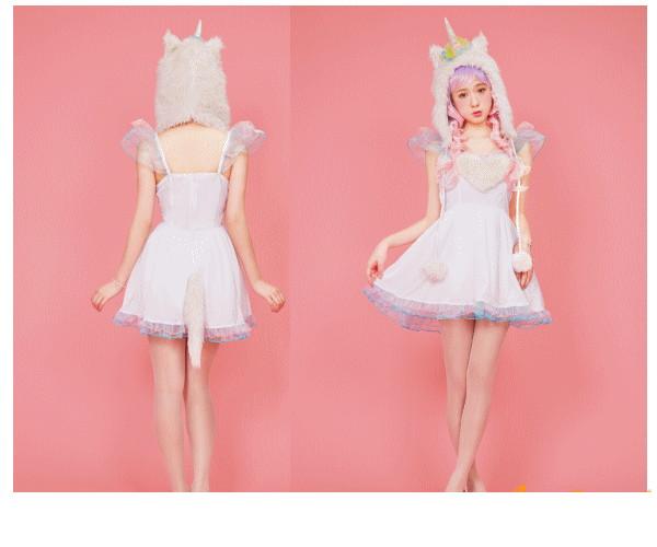 【レディ】【852(C)889】【LLL】ユニコーンガール Unicorn Girl【Lunatic Lemony Lollipop】【AMO】【ブランド】【パーティ】AMOプロデュースのコスチュームブランド AOIコレクションのコス♪【コスプレ】【衣装】【仮装】【コスチューム】【大 】