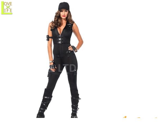 レディ LEG AVENUE SWATスナイパー Deluxe SWAT Commanderレッグアベニュー アメリカ ブランド パーティ コスプレ 衣装 コスチューム 本場のコスプレブランド レッグアベニューコレクション その中でも大人気なスワットシリーズ