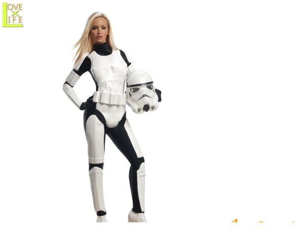 レディース スターウォーズ ストームトルーパーStorm trooper STARWARS 映画 仮装 衣装 コスプレ コスチューム ハロウィン パーティ イベント キャラ グッズ かわいい スターウォーズキャラで目立ちましょう