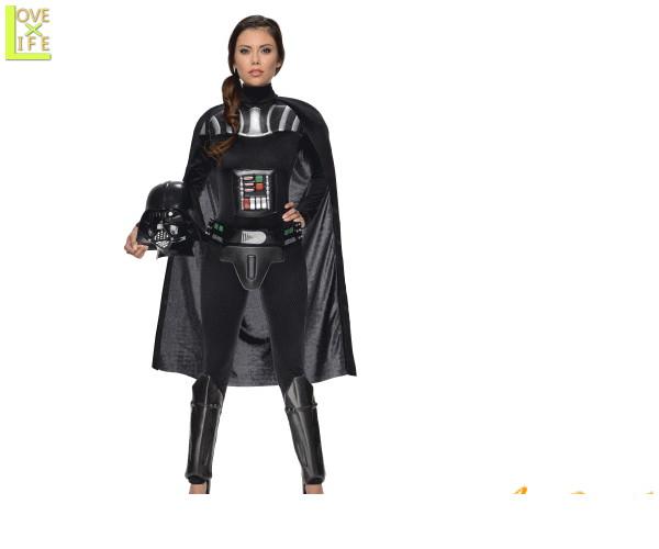 レディ スターウォーズ ダース ベイダーDarth Vader STARWARS 映画 仮装 衣装 コスプレ コスチューム ハロウィン パーティ イベント キャラ グッズ かわいい スターウォーズキャラでかっこよく目立ちましょう