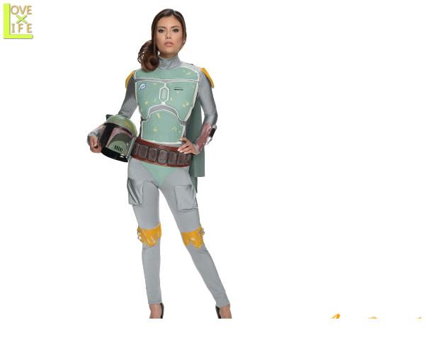 レディ スターウォーズ ボバ フェットBoba Fett STARWARS 映画 仮装 衣装 コスプレ コスチューム ハロウィン パーティ イベント キャラ グッズ かわいい かわいいスターウォーズキャラでかっこよく目立ちましょう