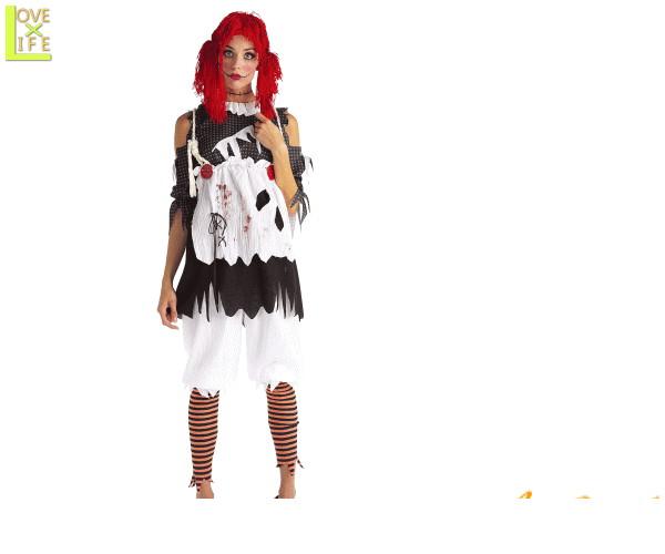 【レディ】ラグドールガール【ドール】【人形】【ぬいぐるみ】【Halloween】【仮装】【衣装】【コスプレ】【コスチューム】【ハロウィン】【パーティ】【イベント】【グッズ】【かわいい】今年のハロウィンはかわいいコスチュームでかっこよく目立ちましょう
