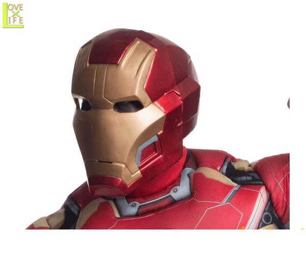GOODS アイアンマン アイアンマンマスクIron Man 仮面 お面 マーベル 装飾 パーティ マスク 雑貨 ハロウィン おもちゃ グッズ 怖い かわいい イベント 小物 HALLOWEEN アイアンマンよりたくさんのグッズが登場