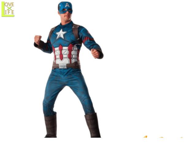 【メンズ】【アベンジャーズ】DX キャプテン アメリカ【マーベル】【ヒーロー】【コスチューム】【衣装】【イベント】【かっこいい】【コスプレ】【ハロウィン】【パーティ】【イベント】アベンジャーズよりメンズコスが多数登場 気分はアメリカンヒーロー