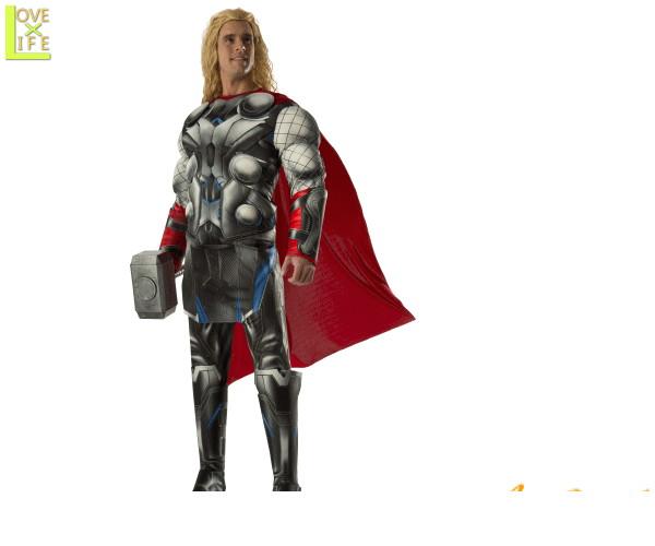 メンズ アベンジャーズ DX マイティ ソーThe Mighty Thor マーベル ヒーロー コスチューム 衣装 イベント かっこいい コスプレ ハロウィン パーティ イベント アベンジャーズよりメンズコスが多数登場 気分はアメリカンヒーロー