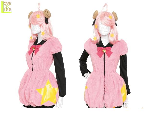 レディ SHOW BY ROCK モアプラズマジカ サンリオ アニメ 再現 Halloween 仮装 衣装 コスプレ コスチューム ハロウィン パーティ イベント かわいい 今年のハロウィンはかわいいコスチュームでかっこよく目立ちましょう