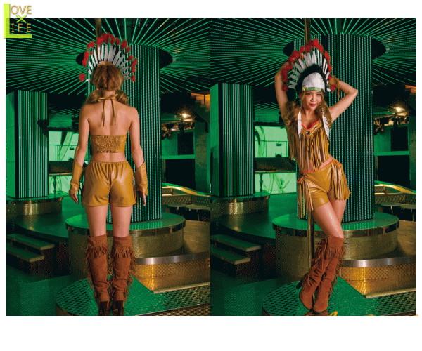 レディ サイバージャパン インディアンフラッシィ 光る LED ライト クラブ 仮装 衣装 コスプレ コスチューム ハロウィン パーティ イベント イベントやクラブで目立っちゃおう キュートな仕上がりで目立つこと間違いなし