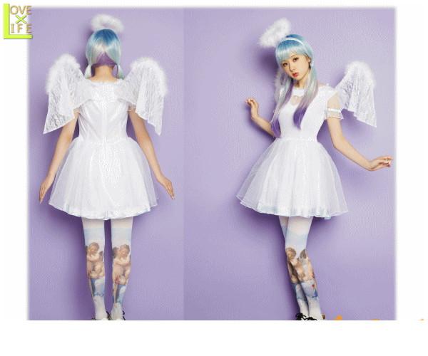 レディ LLL Sugar Angelエンジェル AMO 天使 シュガー ブランド 仮装 衣装 コスプレ コスチューム ハロウィン パーティ イベント かわいい かわいい衣装でかっこよく着こなし AMOプロデュースのコスチュームブランド