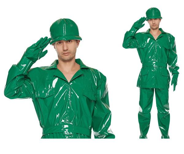 【メンズ】グリーンアーミー【兵隊】【トイストーリー】【アーミー】【ピクサー】【ディズニー】【Disney】【ハロウィン】【コスプレ】【コスチューム】【衣装】【仮装】【かわいい】