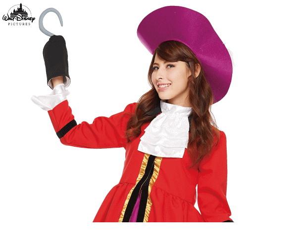 レディース キャプテン・フックピーターパン 海賊 パイレーツ Peter Pan ネバーランド ディズニー Disney ハロウィン コスプレ コスチューム 衣装 仮装 集団仮装 かわいい