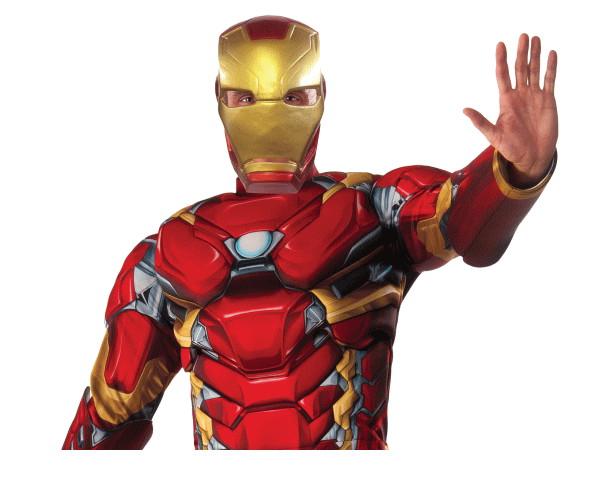 【メンズ】デラックスアイアンマン【アイアンマン】【マーベル】【ハロウィン】【コスプレ】【コスチューム】【衣装】【仮装】【集団仮装】【かわいい】