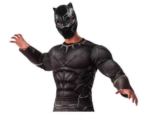 【メンズ】デラックスブラックパンサー【ブラックパンサー】【マーベル】【ハロウィン】【コスプレ】【コスチューム】【衣装】【仮装】【集団仮装】【かわいい】