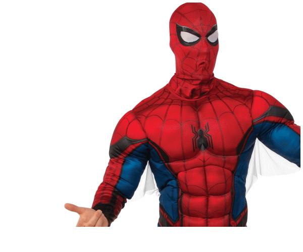 メンズ スパイダーマン・ホームカミングスパイダーマン マーベル クモ 蜘蛛 ハロウィン コスプレ コスチューム 衣装 仮装 かわいい