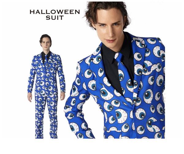 【メンズ】ハロウィンスーツ【目玉】【スーツ】【背広】【紳士】【ハロウィン】【コスプレ】【コスチューム】【衣装】【仮装】【集団仮装】【かわいい】