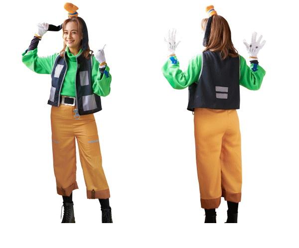 【レディ】グーフィー【キングダムハーツ】【ゲーム】【ディズニー】【Disney】【ハロウィン】【コスプレ】【コスチューム】【衣装】【仮装】【集団仮装】【かわいい】
